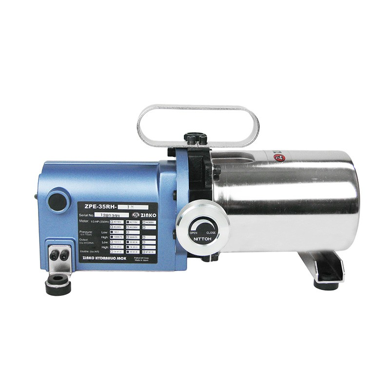 Electric hydraulic pumps zpe 35rh 1m zinko for Hydraulic motor and pump