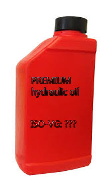 Is it really that important to know the hydraulic oil's ISO-VG?