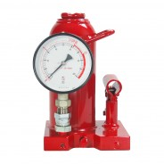 ZNP-10P: Bottle Hydraulic Jacks with Pressure Gauge