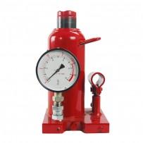 ZNP-20P: Bottle Hydraulic Jacks with Pressure Gauge